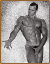 Jim French original gelatin silver print depicting a male nude